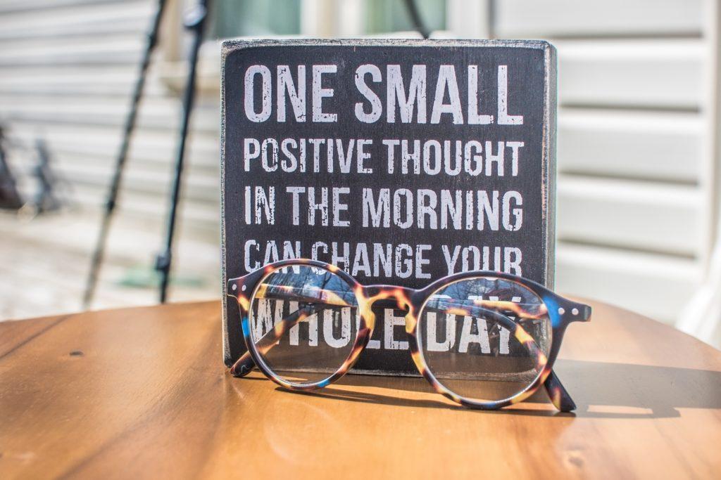 Jobsuche - positiv Denken