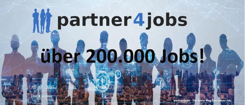Jobs partner4jobs 200000